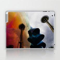 Space Needle Reflection Laptop & iPad Skin