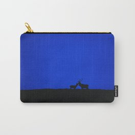 RED DEER ON DAWN SKYLINE Carry-All Pouch
