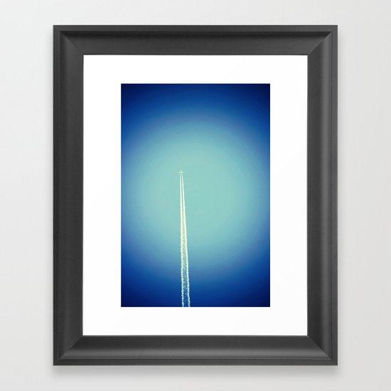 Under the Radar Framed Art Print