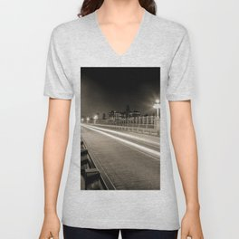 Colorado Street Bridge - Pasadena, CA Unisex V-Neck