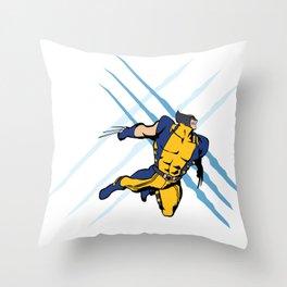 WEAPON X Throw Pillow
