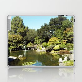 Japanese Gardens 100 0048 Laptop & iPad Skin