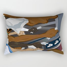 Calling Rectangular Pillow