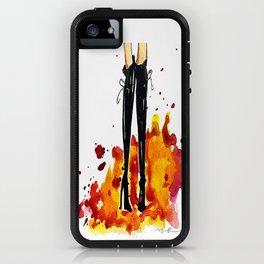 Designer boots iPhone Case
