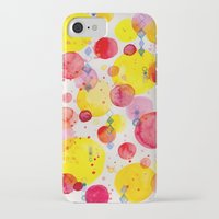 60s iPhone & iPod Cases featuring Party 60s by Gabrielle LR illustration