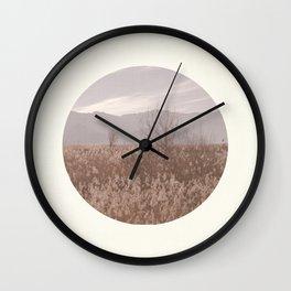 Landscape Circular I Wall Clock