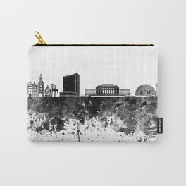 Geneva skyline in black watercolor Carry-All Pouch
