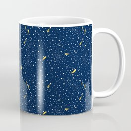 Stars and Comets Coffee Mug
