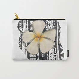 Fiji and the Frangipani Carry-All Pouch