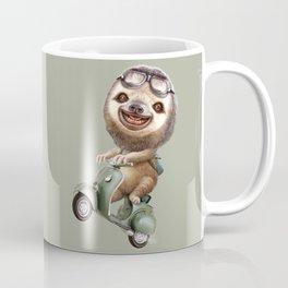 RUNAWAY SLOTH Coffee Mug