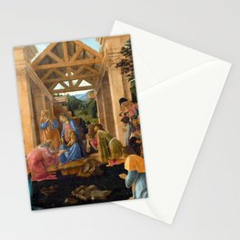 Sandro Botticelli The Adoration of the Magi Stationery Cards