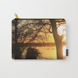 Floodplain at Sunset 2 Carry-All Pouch