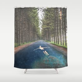 FORREST RIVER Shower Curtain