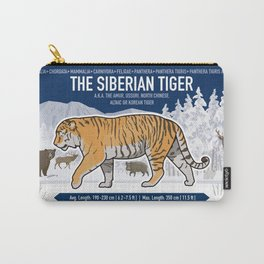 The Wild Ones: Siberian Tiger (info) Carry-All Pouch