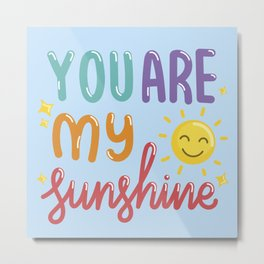 The Sunshine Love Metal Print