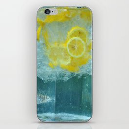Lemon Water iPhone Skin