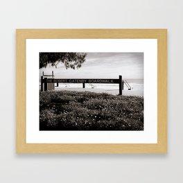The Robert Gatenby Boardwalk Framed Art Print