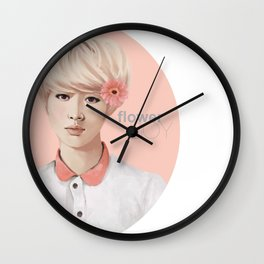 Flower Boy - Luhan Wall Clock