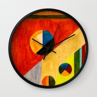 balance Wall Clocks featuring BALANCE by THE USUAL DESIGNERS
