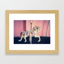 carrusel 2 Framed Art Print