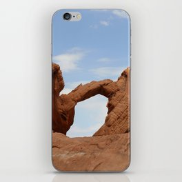 Valley of Fire Arch Rock iPhone Skin