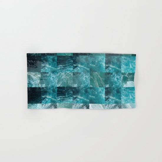 Abstract sea Hand & Bath Towel