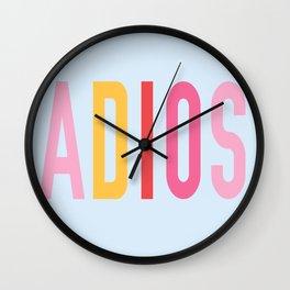 Adios Wall Clock