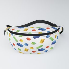 Building Blocks Pattern Fanny Pack