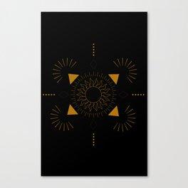 Ancient Shine Canvas Print