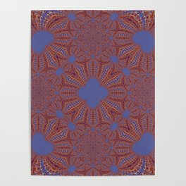 Sequential Baseline Mandala 12p Poster