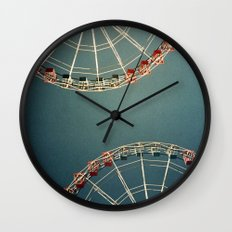 Anything back to the same place Wall Clock