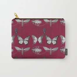 red butterfly Carry-All Pouch