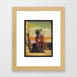 Trickster Framed Art Print