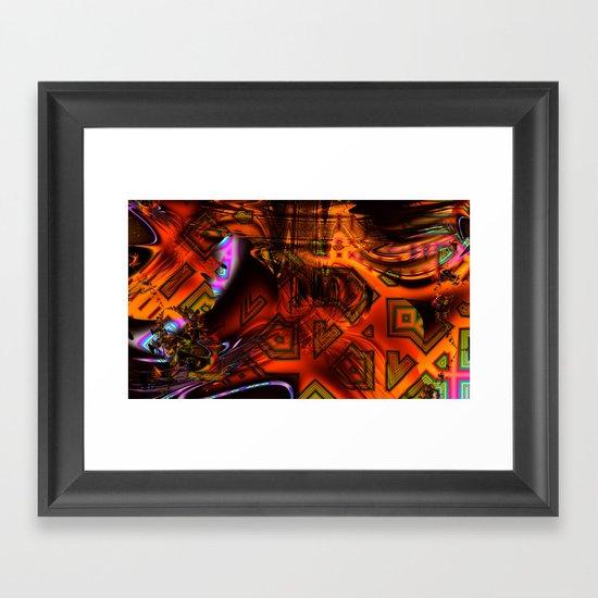 Sensational Quilt Framed Art Print