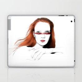 Love Girls - Blood redhead Laptop & iPad Skin