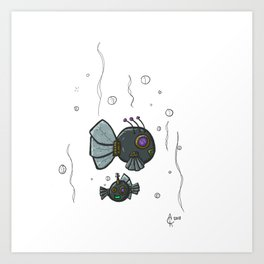 Cyberfish Art Print