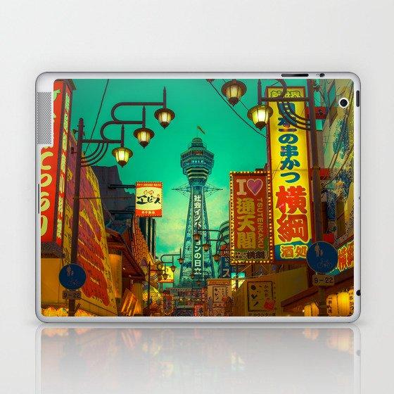 Osaka Nights - Shinsekai, New World / Liam Wong Laptop & iPad Skin