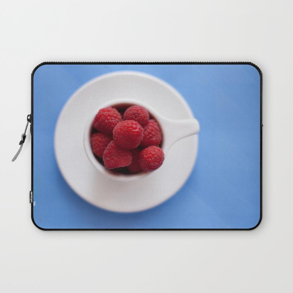 Raspberries In A Cup Laptop Sleeve LSV8024579