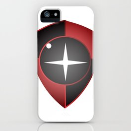 Red Black Sight iPhone Case