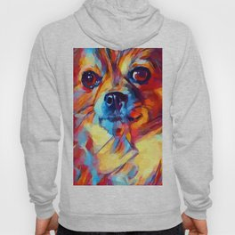 Chihuahua Watercolor Hoody