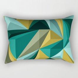 Polygon 3 Rectangular Pillow