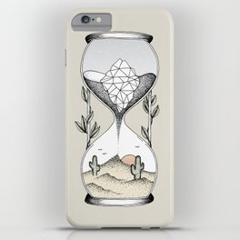 Time Is Running Out iPhone Case