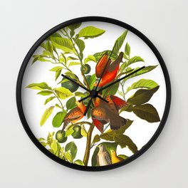 Ground Dove Wall Clock