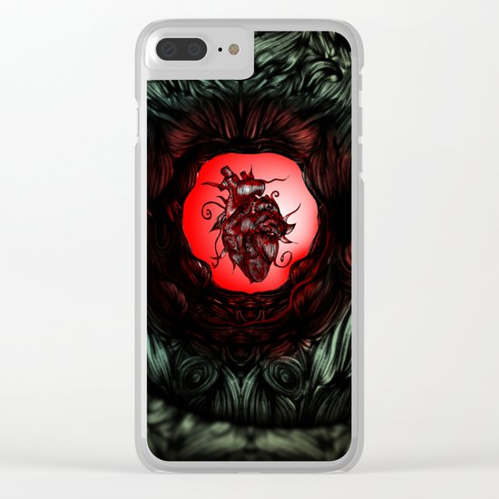 Inner Heart Clear iPhone Case