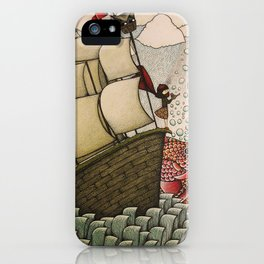 your chances are 50/50 iPhone Case