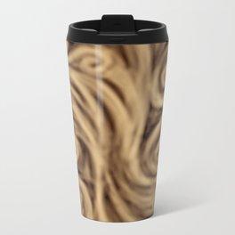 bohemian burnt sienna swirl pattern Metal Travel Mug