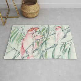 Major Mitchell Cockatoo Rug