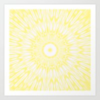 lemon Art Prints featuring Lemon by SimplyChic