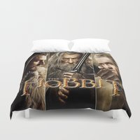 hobbit Duvet Covers featuring  Hobbit by ira gora
