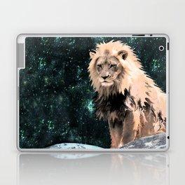 Lion King of the Emerald Panthera Galaxy Laptop & iPad Skin